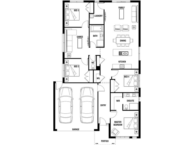 Lot 1565 Pablo Drive, Clyde North, Vic 3978 - floorplan