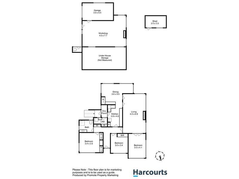 10 Corinna Road, Lindisfarne, Tas 7015 - floorplan
