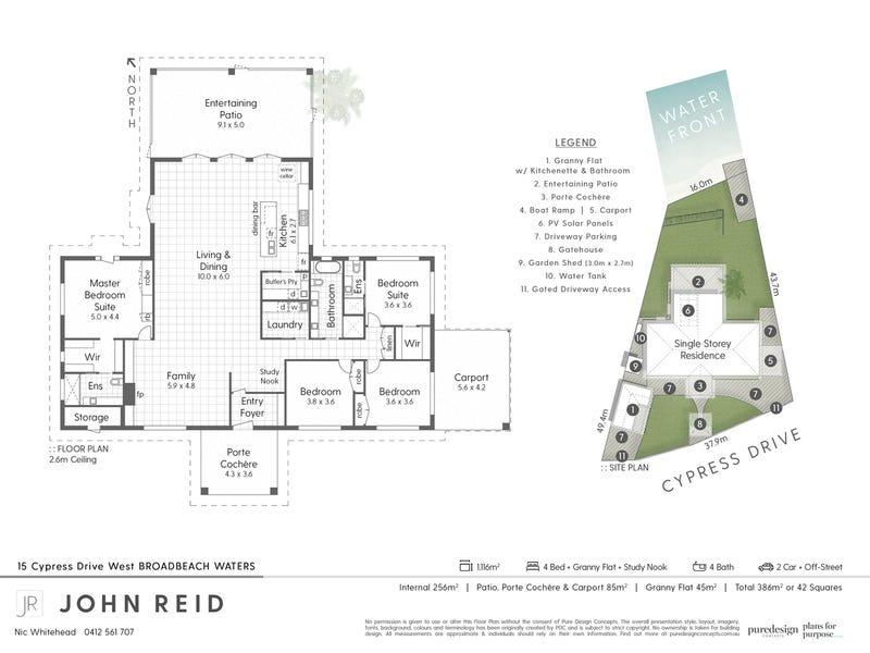 15 Cypress Drive West, Broadbeach Waters, Qld 4218 - floorplan