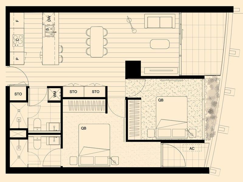 Apt 303 443 Upper Heidelberg Road, Ivanhoe, Vic 3079 - floorplan