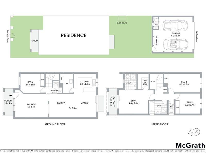 32 Redbank Street, Harrison, ACT 2914 - floorplan