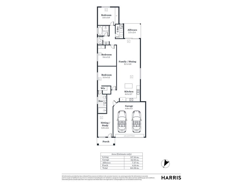 22A Press Road, Brooklyn Park, SA 5032 - floorplan