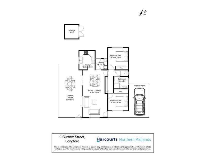 9 Burnett Street, Longford, Tas 7301 - floorplan