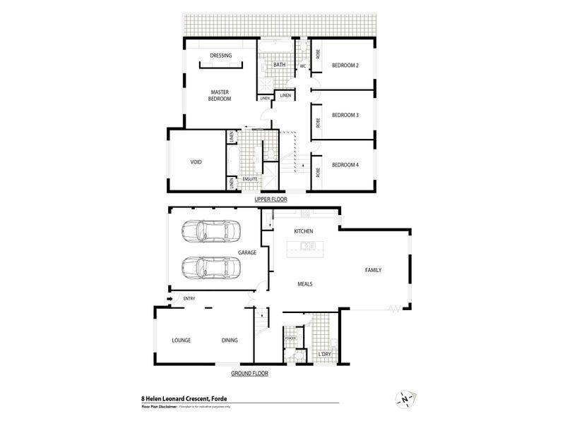8 Helen Leonard Crescent, Forde, ACT 2914 - floorplan