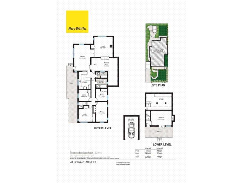44 Howard Street, Paddington, Qld 4064 - floorplan