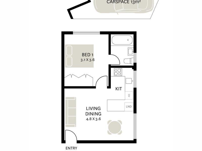 4/16 Vincent Street, Balmain, NSW 2041 - floorplan