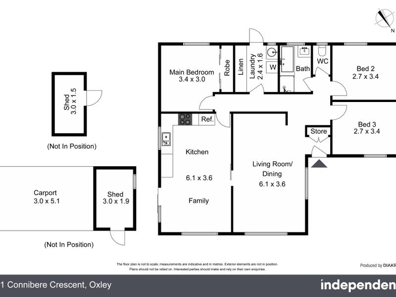 21 Connibere Crescent, Oxley, ACT 2903 - floorplan