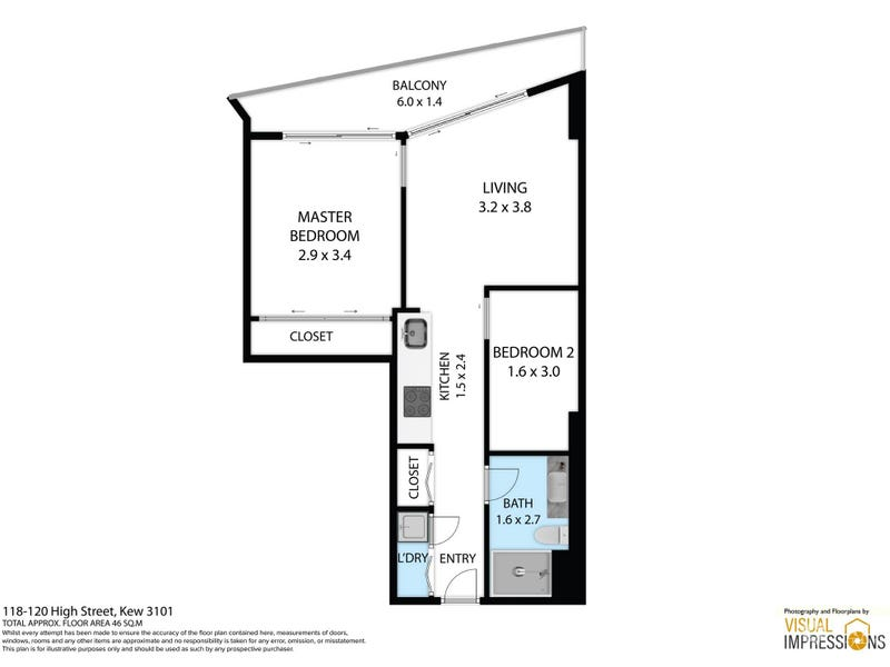 805/118 High Street, Kew, Vic 3101 - floorplan