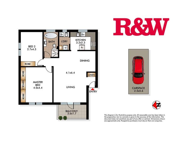 21/70 Cowper Street, Randwick, NSW 2031 - floorplan