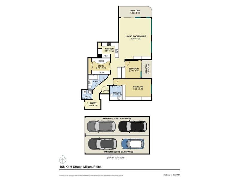 901/168 Kent Street, Sydney, NSW 2000 - floorplan