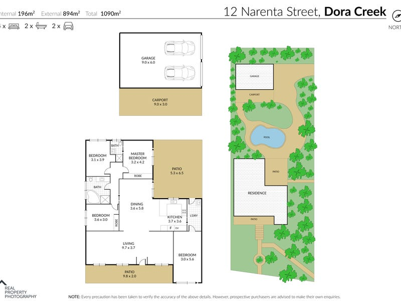 12 Narenta Street, Dora Creek, NSW 2264 - floorplan