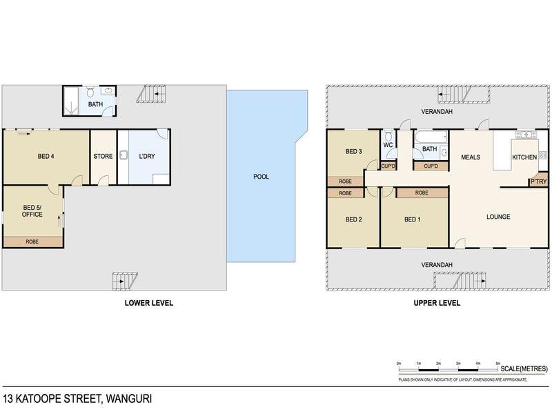 13 Katoope Street, Wanguri, NT 0810 - floorplan