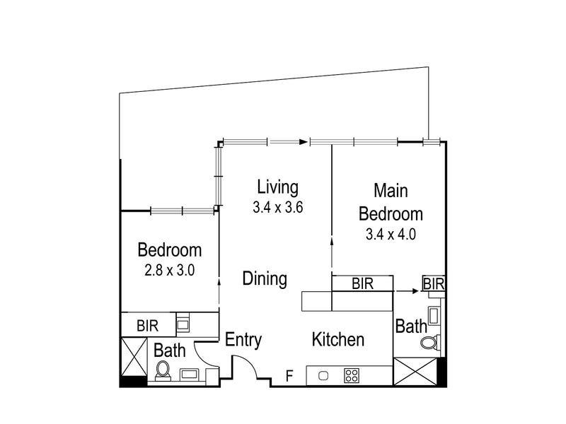 209/1 Westley Avenue, Ivanhoe, Vic 3079 - floorplan