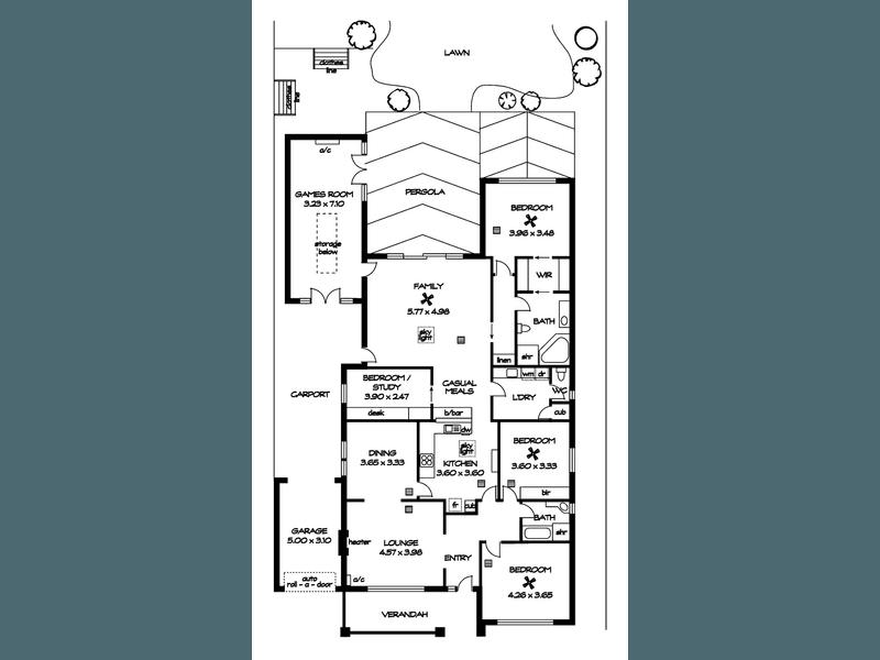 26 Harvey Street West, Woodville, SA 5011 - floorplan