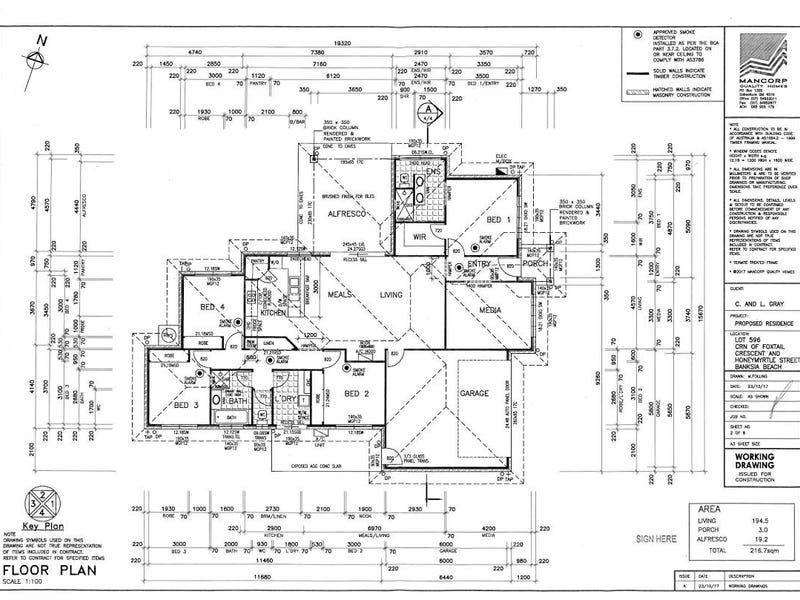 61 Foxtail Crescent, Banksia Beach, Qld 4507 - floorplan