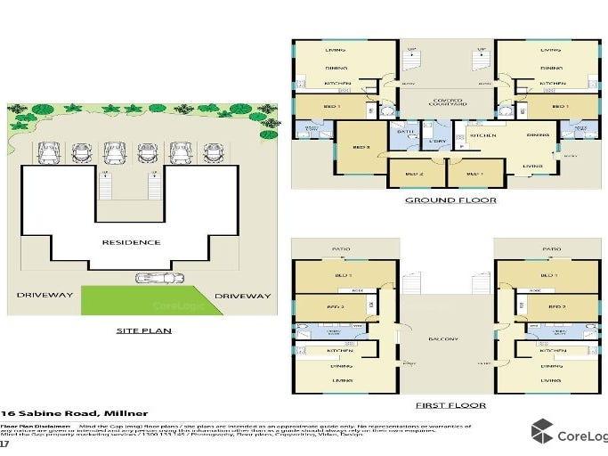 16 Sabine Road, Millner, NT 0810 - floorplan