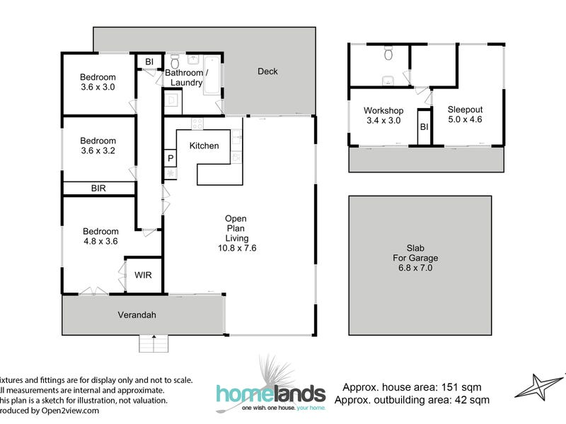 52 Braeside Road, Franklin, Tas 7113 - floorplan