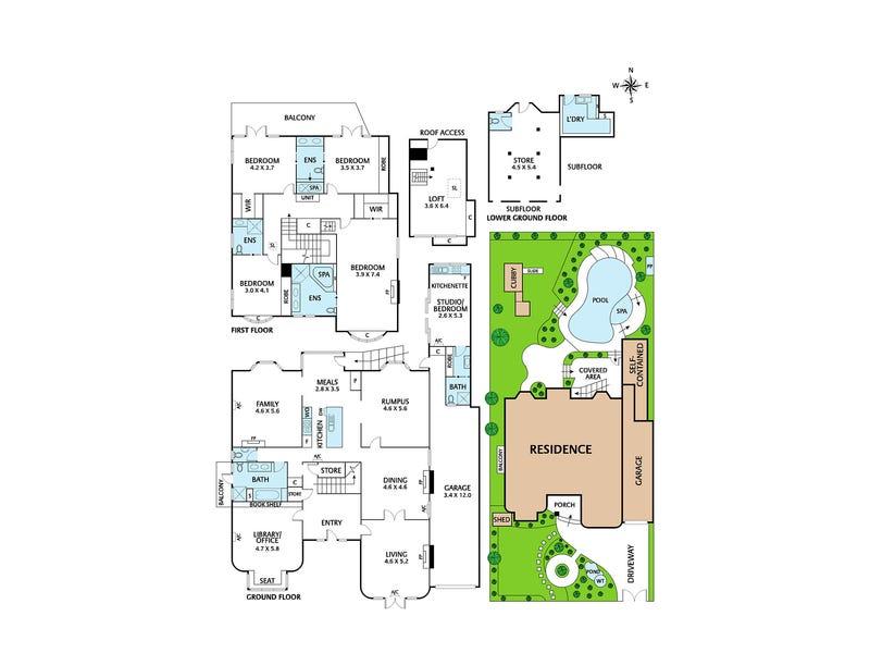 55 Argyle Road, Kew, Vic 3101 - floorplan