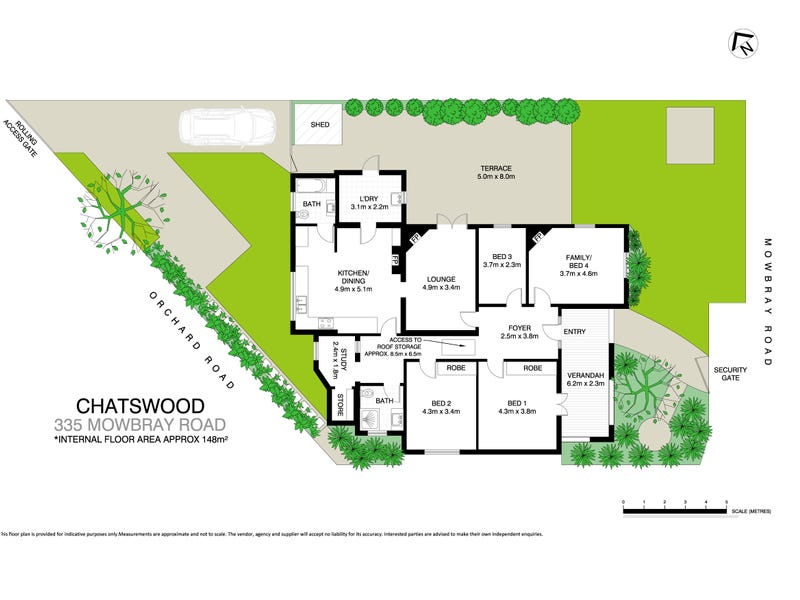 335 Mowbray Road, Chatswood, NSW 2067 - floorplan