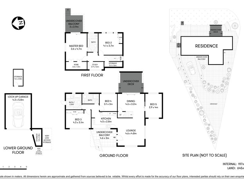 5A The Crescent, Chatswood, NSW 2067 - floorplan