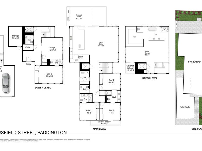 7 Bousfield Street, Paddington, Qld 4064 - floorplan