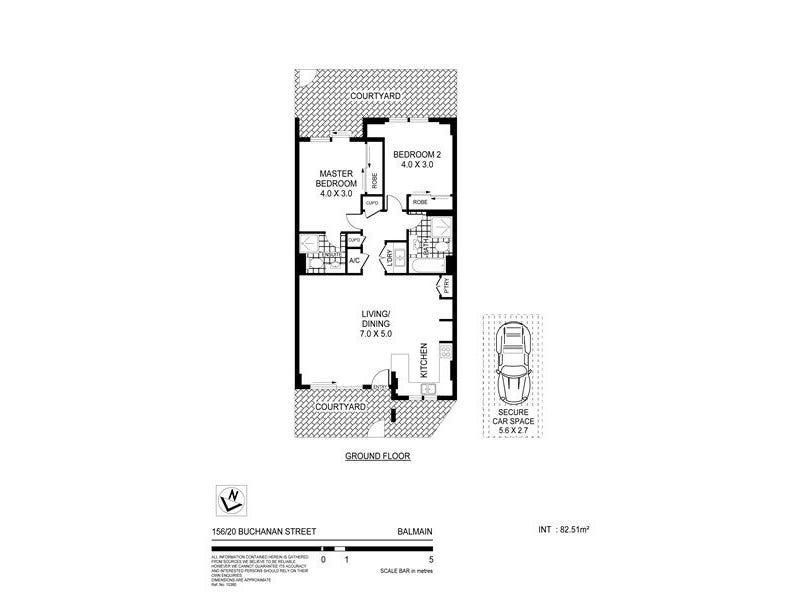 156/20 Buchanan Street, Balmain, NSW 2041 - floorplan