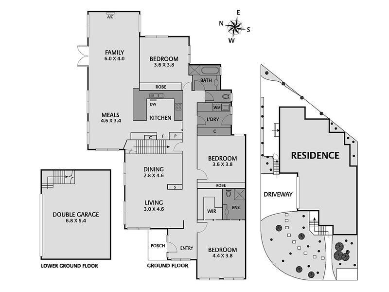 7 Alanah Place, Ivanhoe, Vic 3079 - floorplan