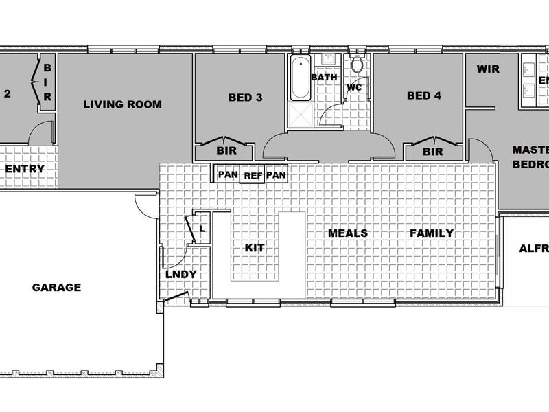 99 Greendale Boulevard, Pakenham, Vic 3810 - floorplan