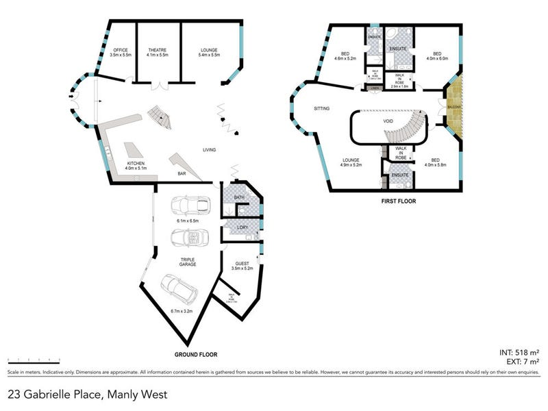 23 Gabrielle Place, Manly West, Qld 4179 - floorplan