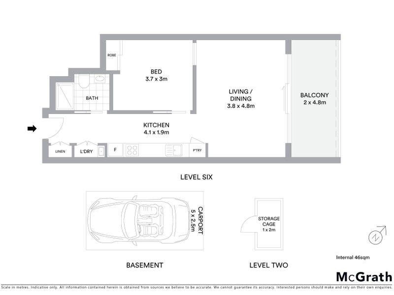 247/325 Anketell Street, Greenway, ACT 2900 - floorplan