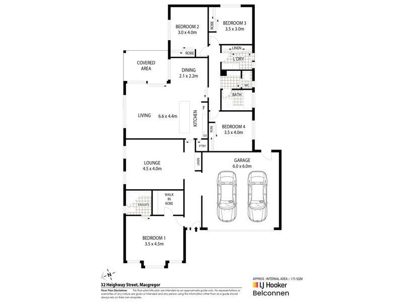 32 Heighway Street, MacGregor, ACT 2615 - floorplan