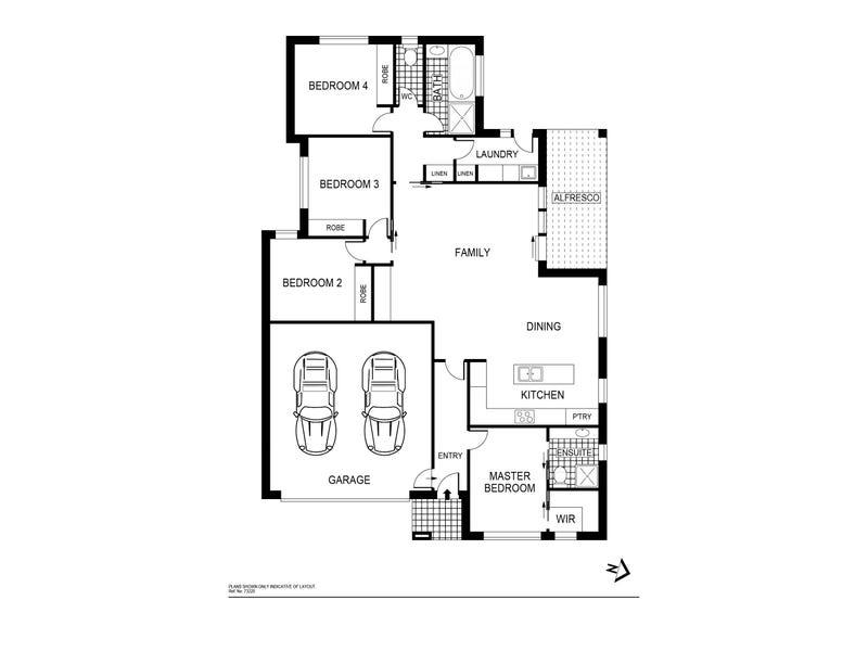 87 Lionel Rose Street, Holt, ACT 2615 - floorplan