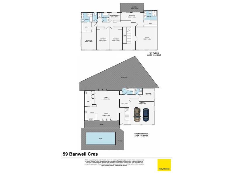 59 Banwell Crescent, Carindale, Qld 4152 - floorplan