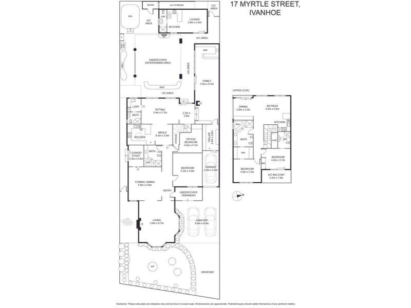 17 Myrtle Street, Ivanhoe, Vic 3079 - floorplan