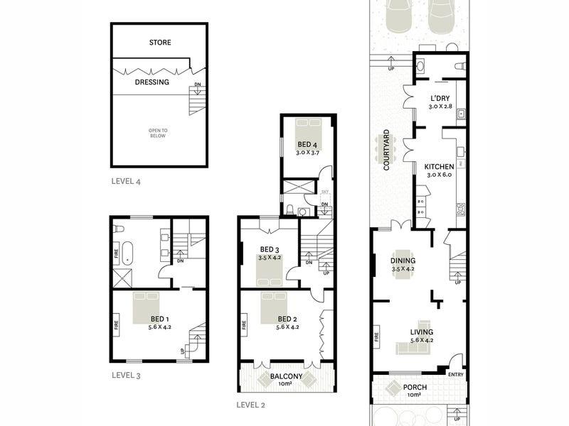 102 Victoria Street, Potts Point, NSW 2011 - floorplan