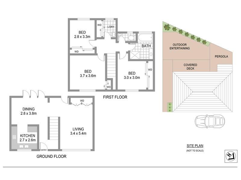 2/156 Wellbank Street, North Strathfield, NSW 2137 - floorplan