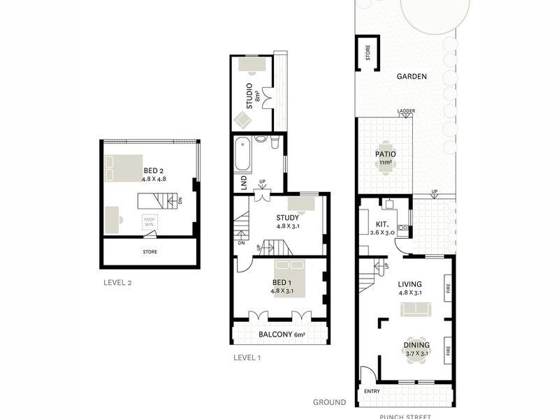 8 Punch Street, Balmain, NSW 2041 - floorplan