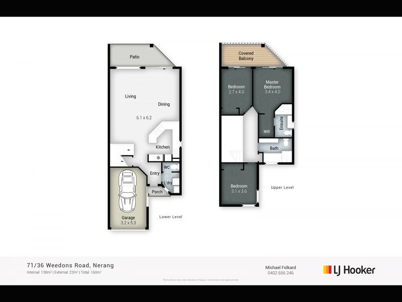 71/36 Weedons Road, Nerang, Qld 4211 - floorplan