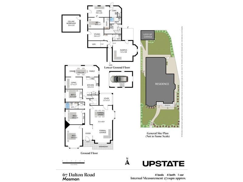 67 Dalton Road, Mosman, NSW 2088 - floorplan
