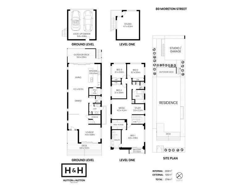 80 Moreton Street, New Farm, Qld 4005 - floorplan