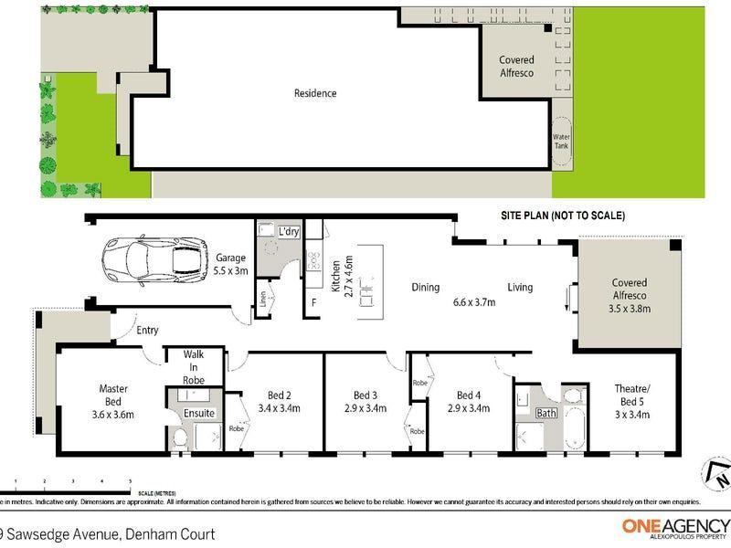 69 Sawsedge Avenue, Denham Court, NSW 2565 - floorplan