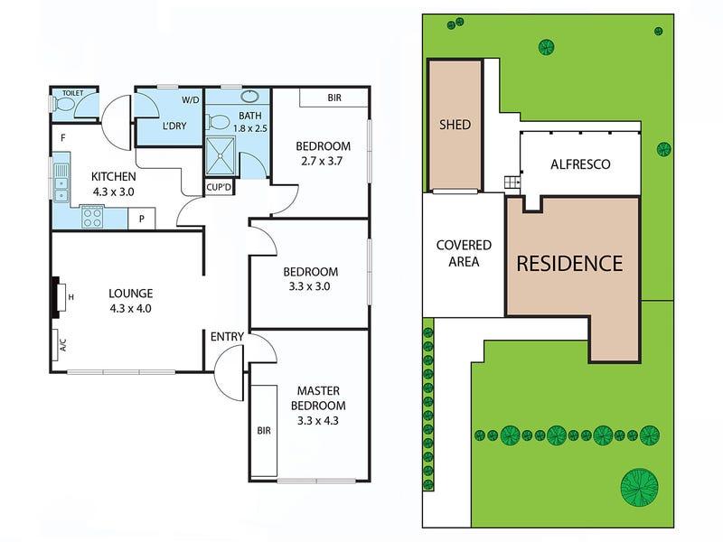 11 Kernot Street, Dickson, ACT 2602 - floorplan