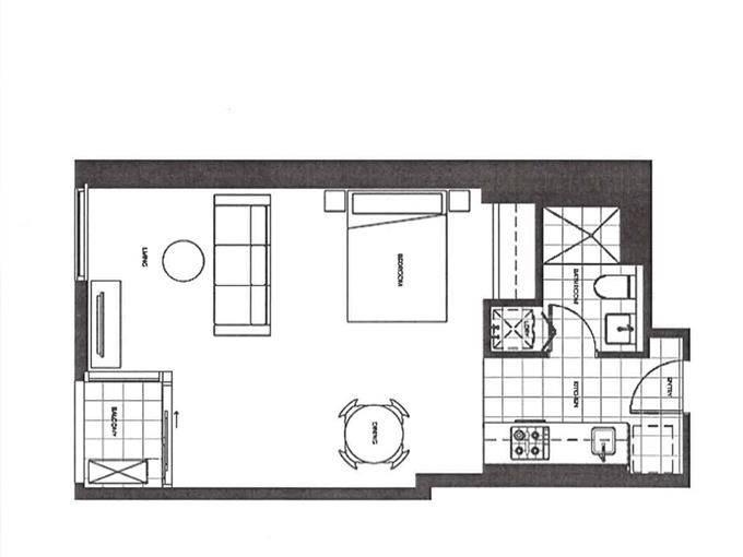 4605/80 A'beckett Street, Melbourne, Vic 3000 - floorplan