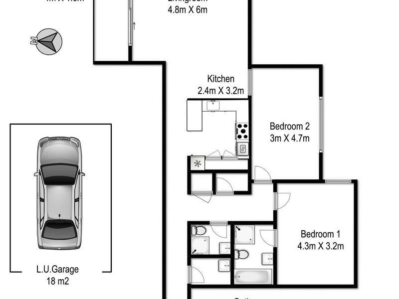203/158-166 Day Street (289-295 Sussex Street), Sydney, NSW 2000 - floorplan