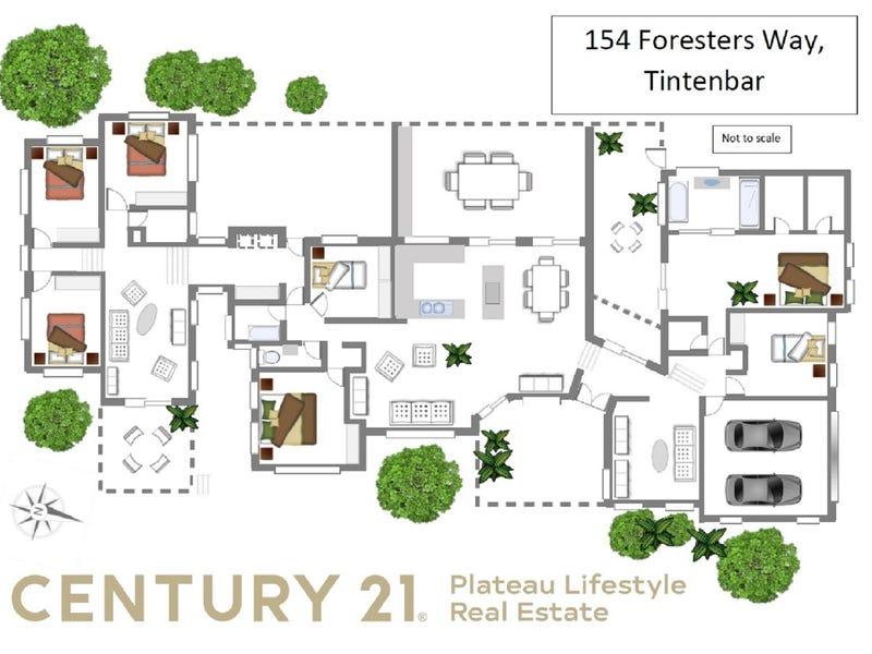 154 Foresters Way, Tintenbar, NSW 2478 - floorplan