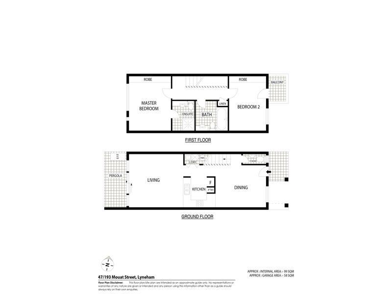 47/193 Mouat Street, Lyneham, ACT 2602 - floorplan