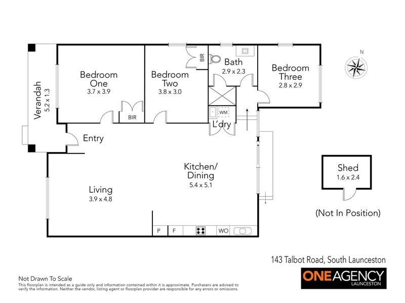1/143 Talbot Road, South Launceston, Tas 7249 - floorplan