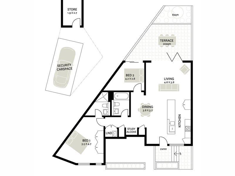 7/148 Beattie Street, Balmain, NSW 2041 - floorplan