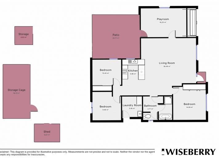 65 Anthony Dr, Rosemeadow, NSW 2560 - floorplan