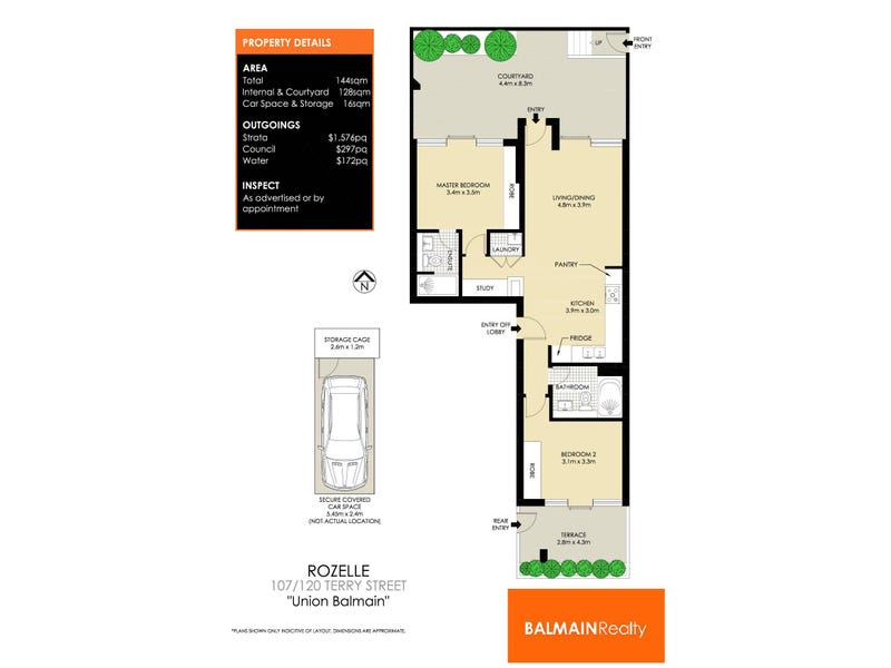 107/120 Terry Street, Rozelle, NSW 2039 - floorplan